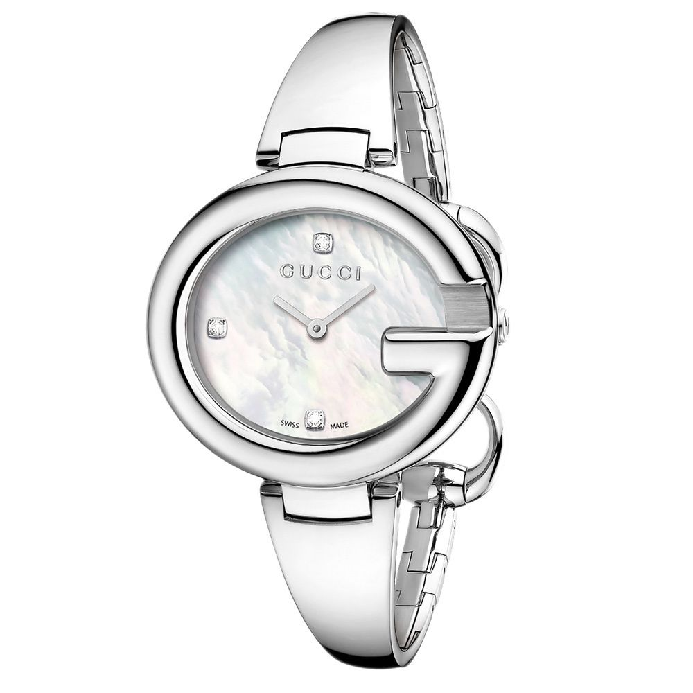 a60018f4078 Gucci Women s Guccissima Watch. Stainless steel case