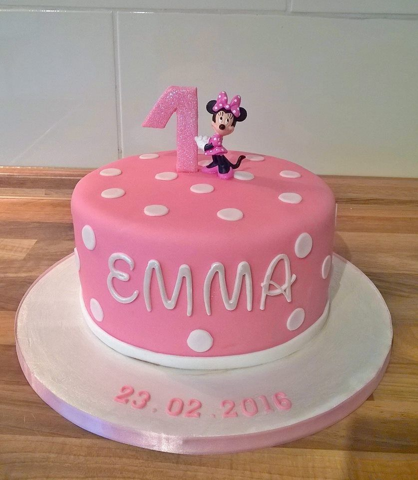 Erster Geburtstag Kuchen Minnie Maus Torte Avi Bday Ideas In 2019 Cake Minnie Mouse