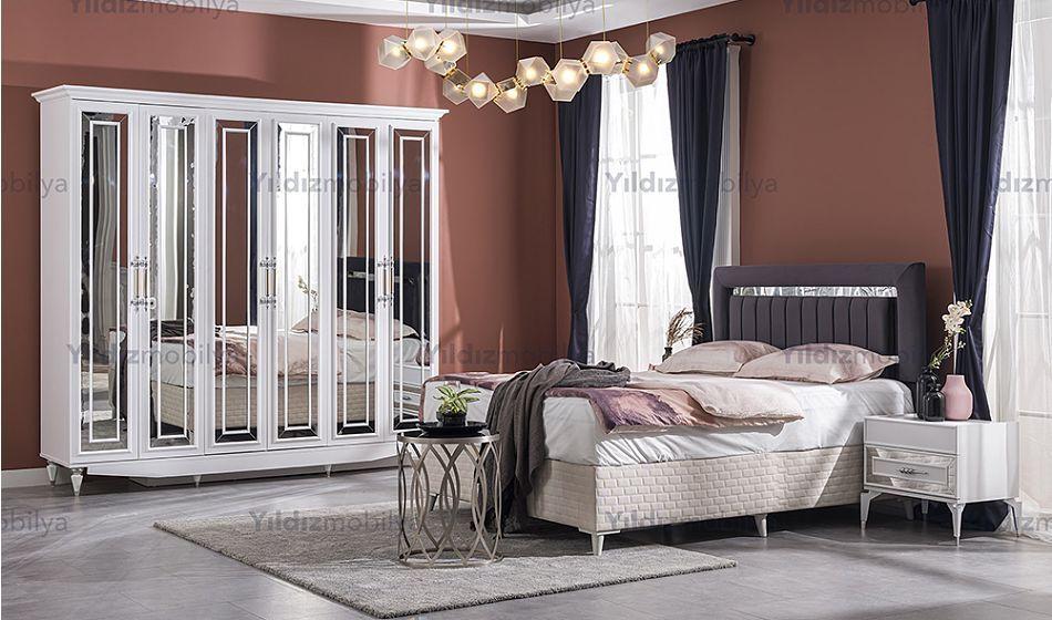 oliver beyaz mdf yatak odasi caddeyildiz mobilya ev dekoru mobilya fikirleri yatak