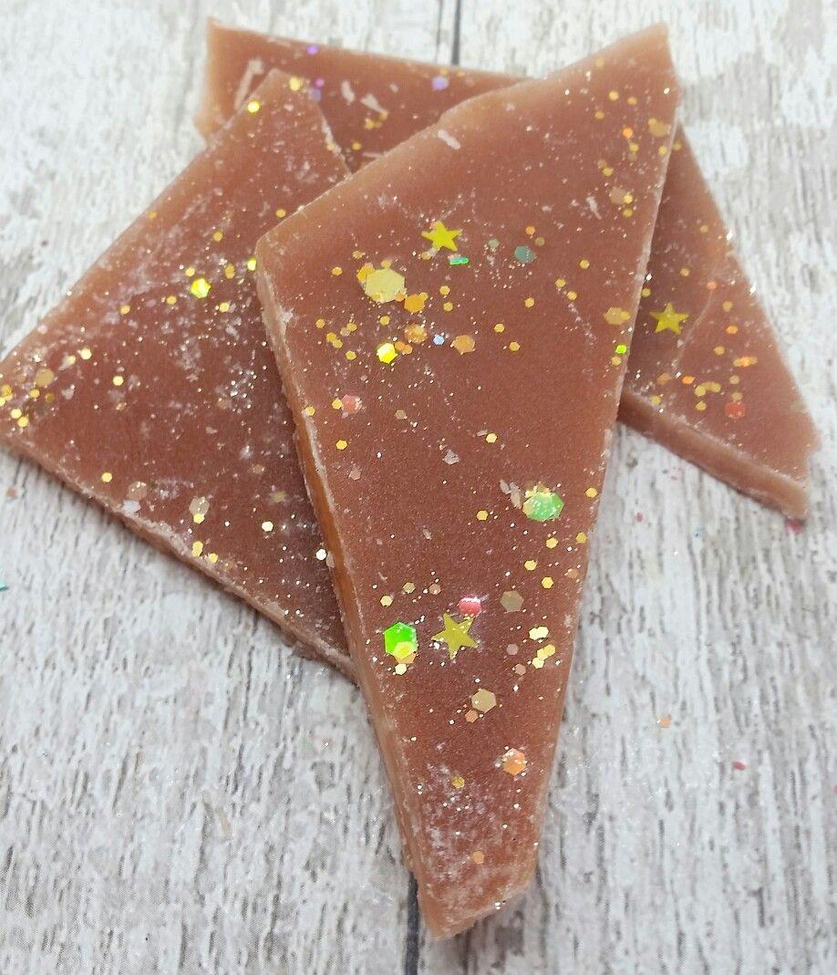 Chocolate orange scented wax brittle christmas wax