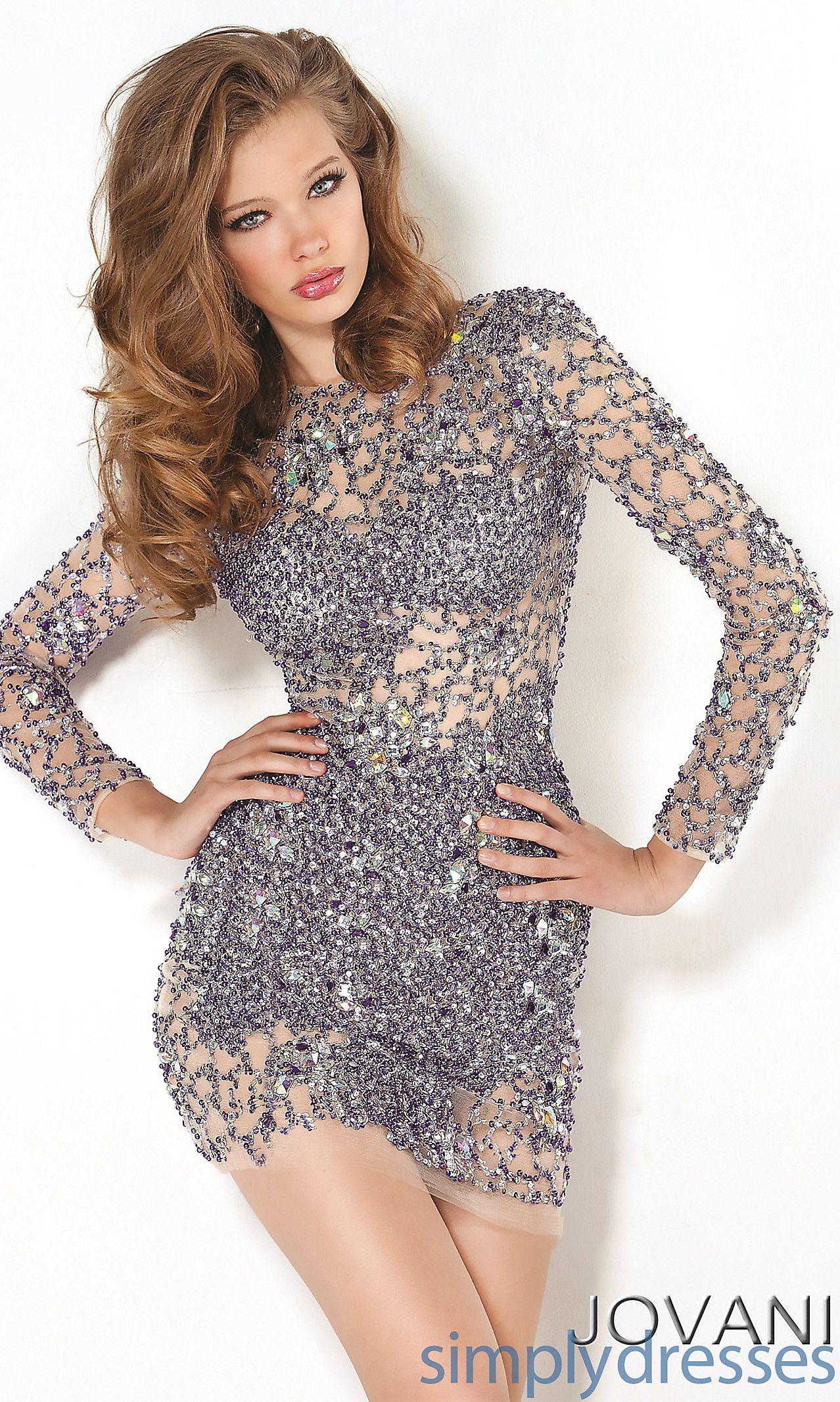 Short Sheer Dress