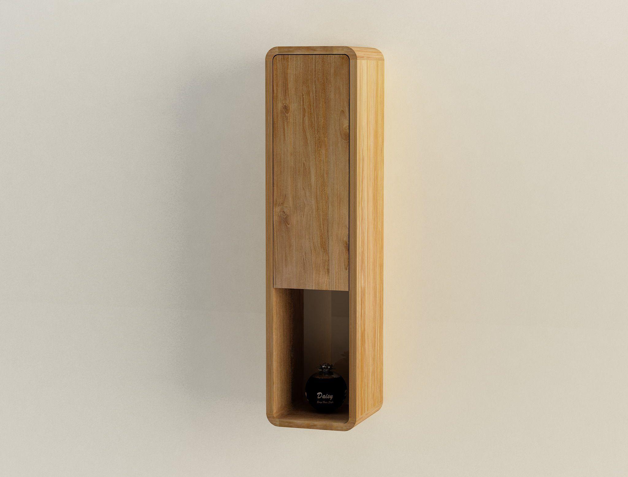 6 Hangeschrank Iria Wandschrank Badschrank Badmobel Teak Holz