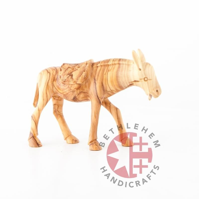 Hand Carved Wooden Donkey This Elegant Carving Shows You One Of