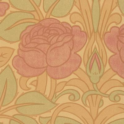 jugendstil art deco tapeten tapeten stoffe vorhangstangen im englischen schwedischen. Black Bedroom Furniture Sets. Home Design Ideas