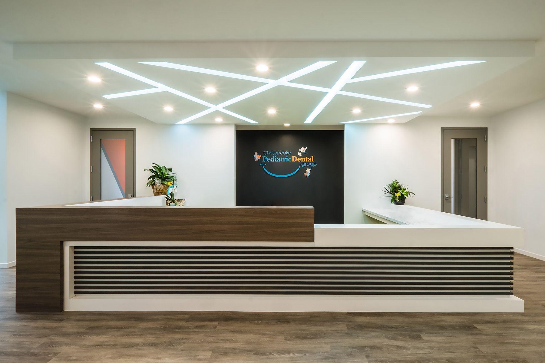 Chesapeake Pediatric Dental Medical Office Design Interior