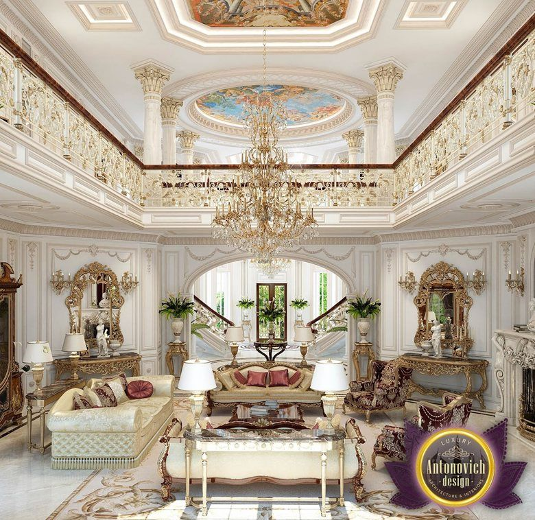 The Interior Design In Classic Style By Katrina Antonovich Becomes A Model Of Modern Luxury Palace