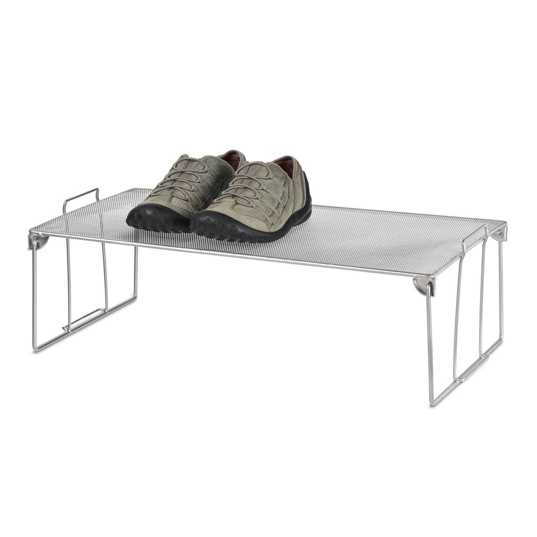 Mesh Stackable Shoe Shelf