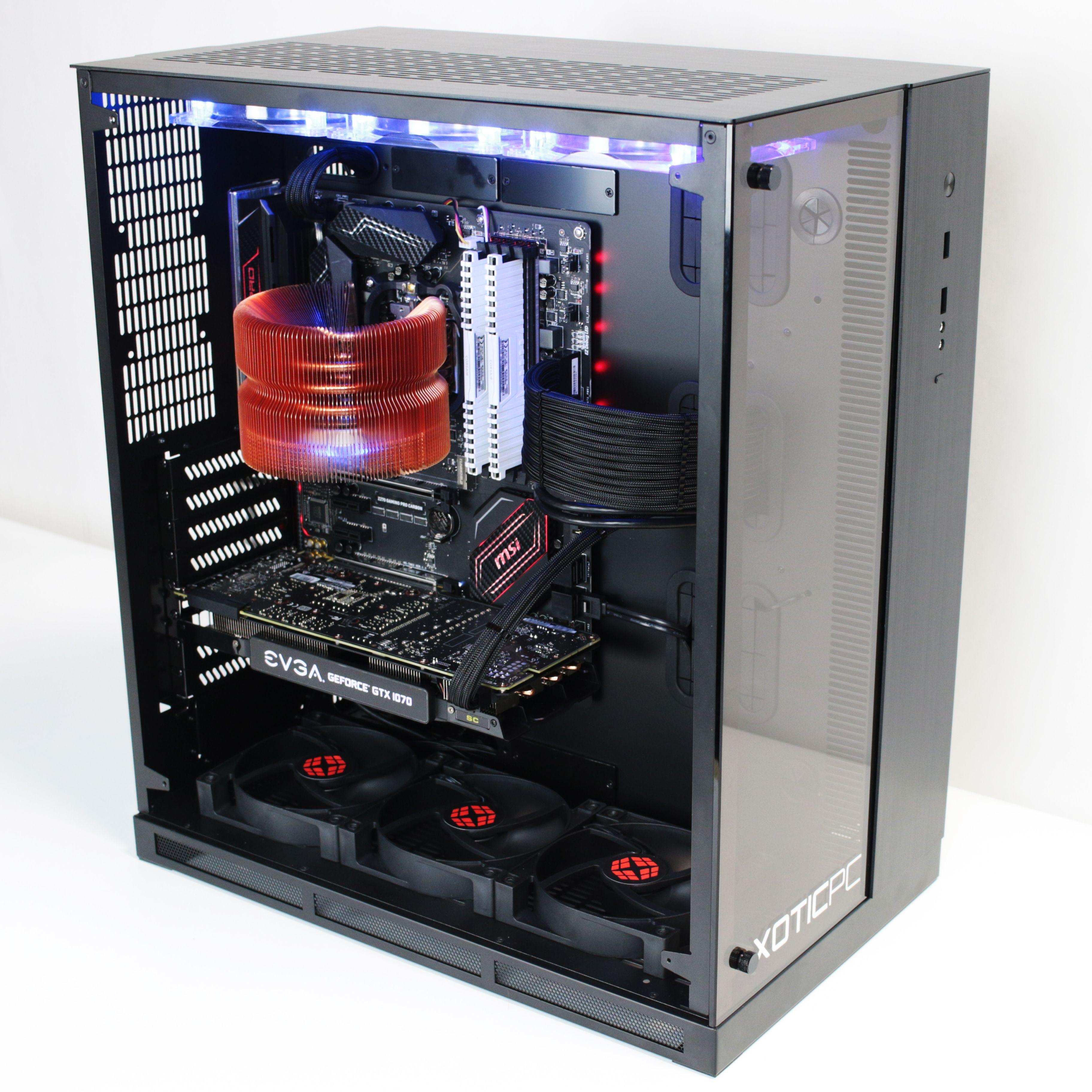 Gx11 Widow From Xotic Pc Custom Computer Custom Pc Gaming Room Setup
