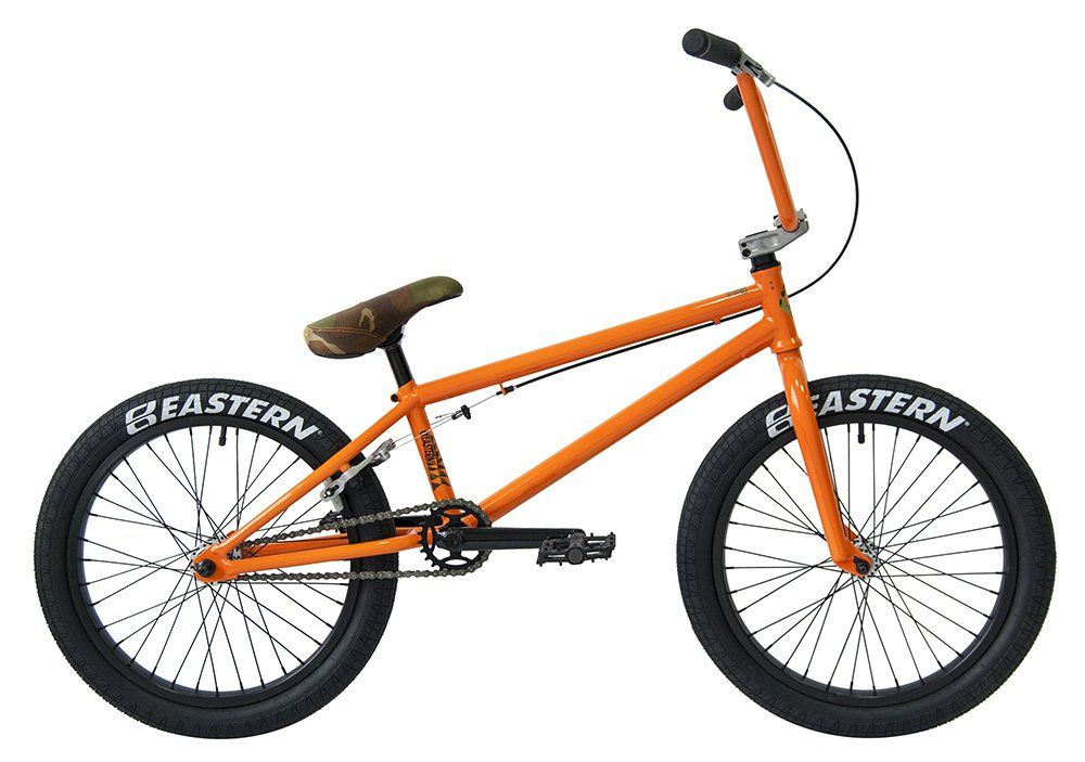 Eastern Bikes Nagas Bmx Bicycle Gloss Orange 20 One Size Lightweight Bmx Bike By Eastern Bikes With Sealed Bearing Headse Bmx Bicycle Eastern Bmx Bmx Bikes