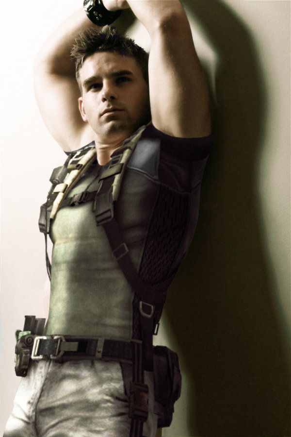 The Real Chris Redfield By Fullm8n Deviantart Com Resident