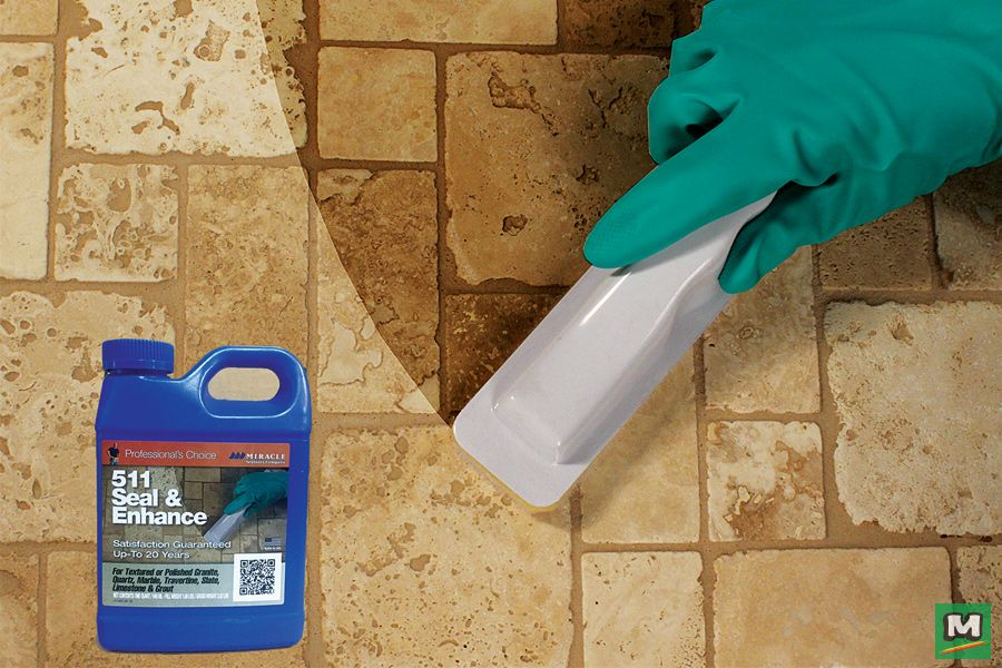 511 Seal & Enhance Sealer is your onestep
