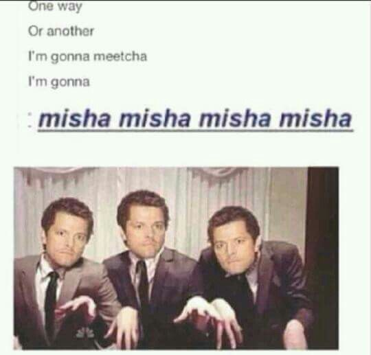 One way or another supernatural 3 pinterest supernatural one way or another misha supernaturalsupernatural funny tumblrsupernatural picturessupernatural wallpapercastielfunny voltagebd Gallery
