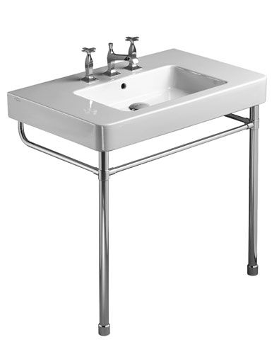 Bathroom Sinks With Legs roma from roger sellers photo of chrome legs for 85 washbasin