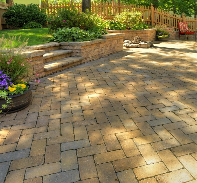 EP Henry Coventry Brick Stone Patio | Perfect Patios ...