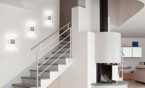 Applique magic de grossmann r f rence 51 752 063 pour votre mont e d 39 escalier luminaires - Luminaire escalier maison ...