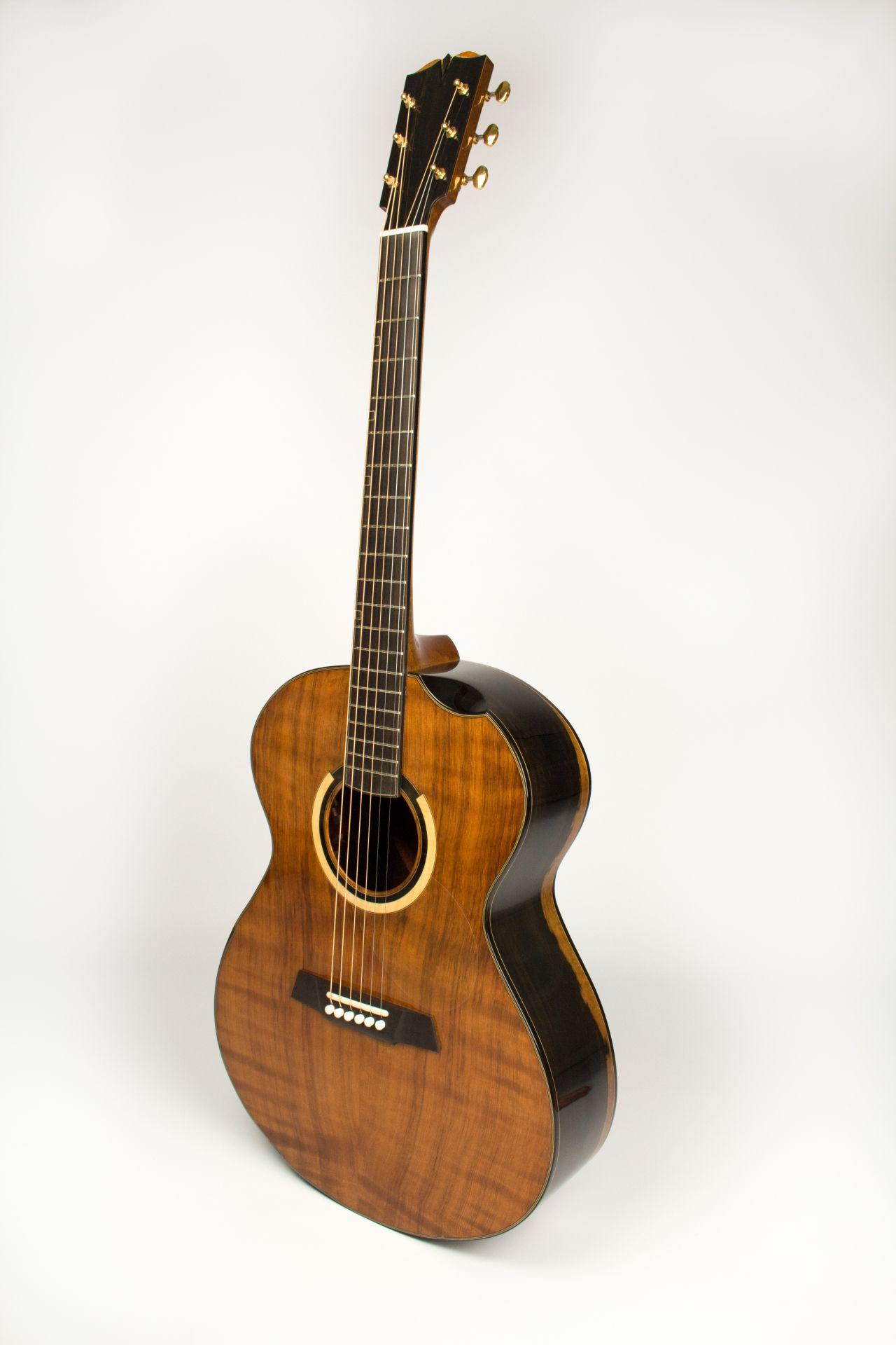 Handmade Custom Acoustic Guitar Photo Video Gallery Guitarra Electroacustica Guitarras Modelos