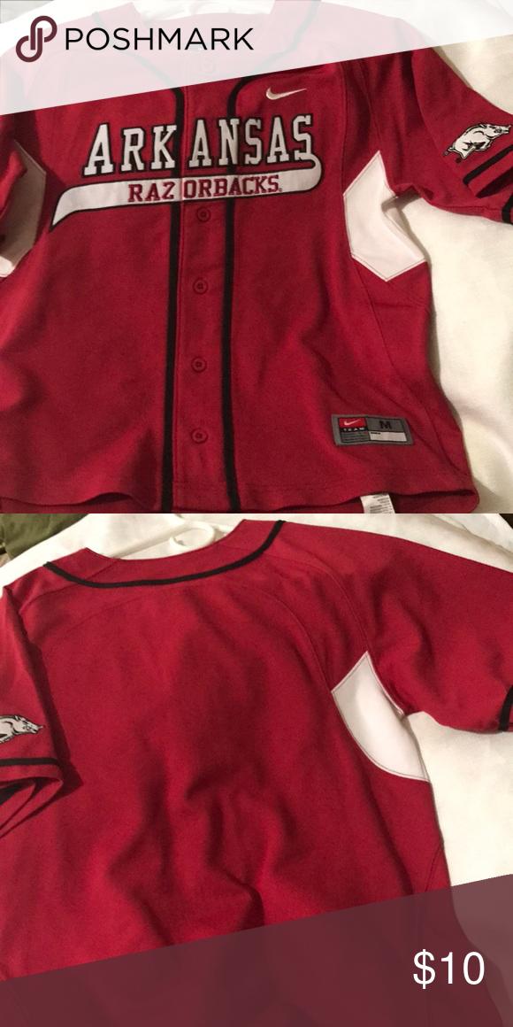 wholesale dealer 20d0f 59d35 Arkansas Baseball Logo Jersey Arkansas Razorback - baseball ...