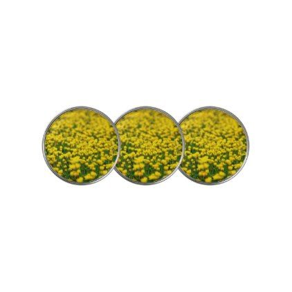 Flower small yellow wild flowers in the green field golf ball flower small yellow wild flowers in the green field golf ball marker mightylinksfo Image collections