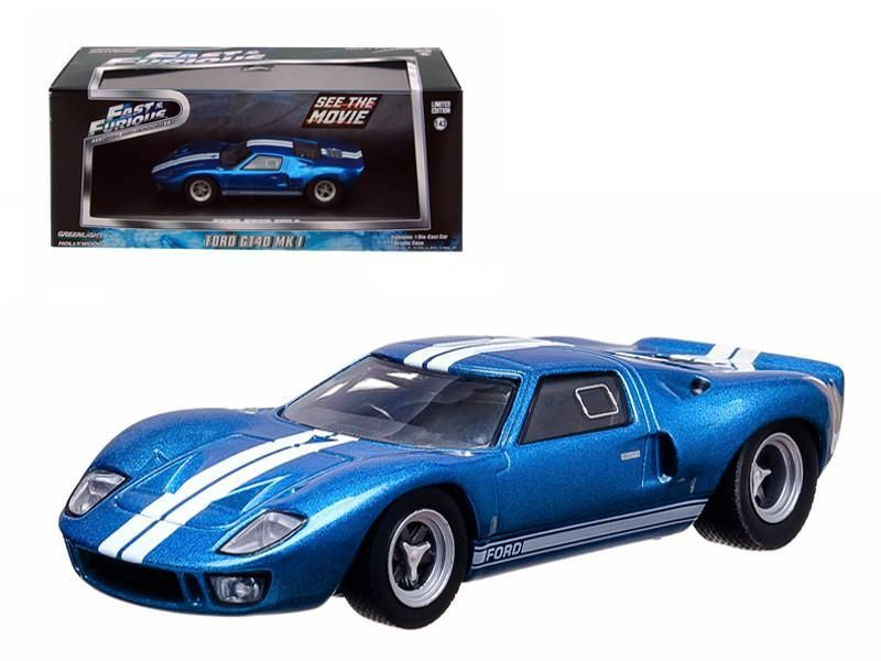 Vince S 1969 Ford Gt 40 Mk I Fast Five Movie 1 43 Scale Diecast