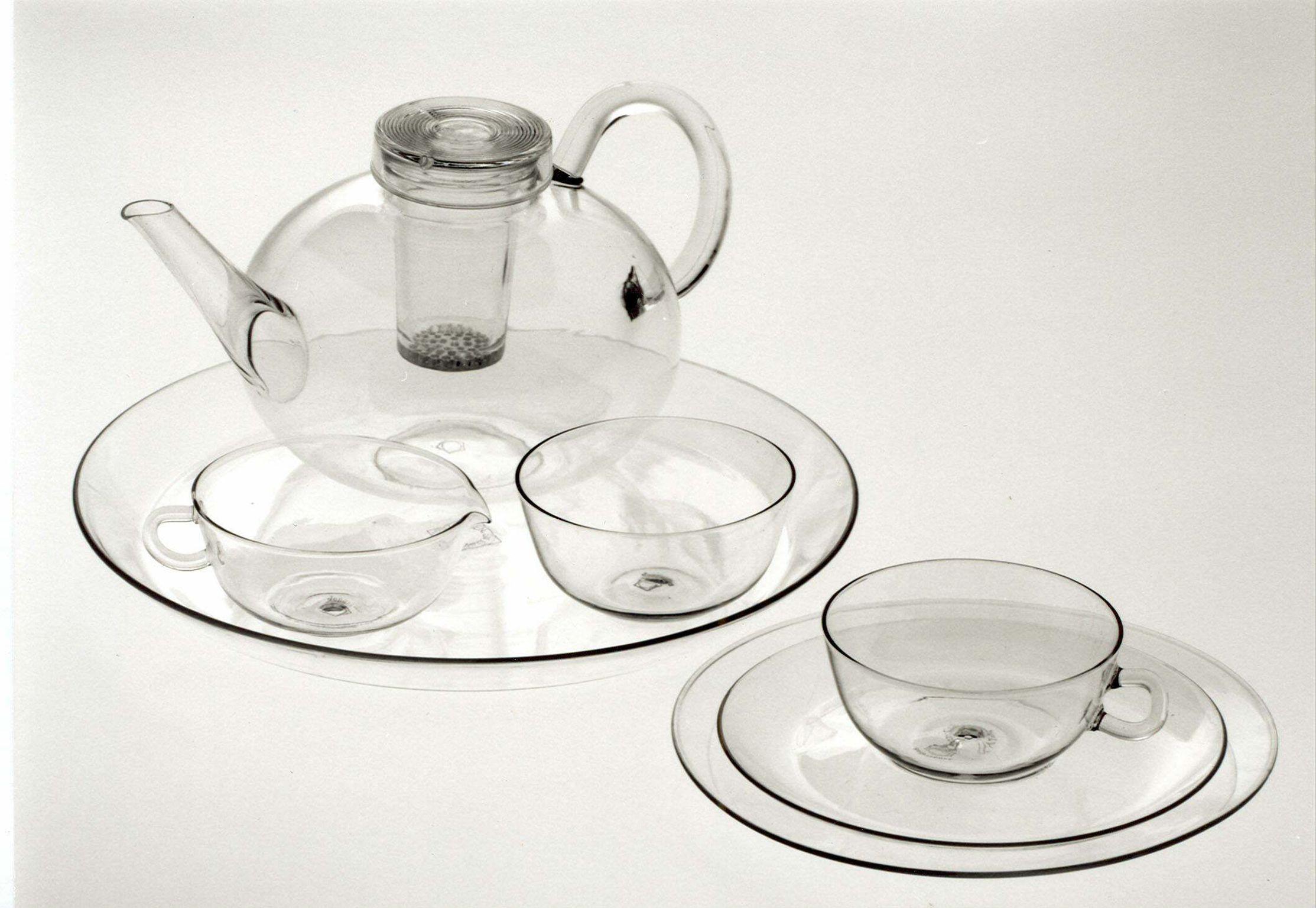 Wilhelm Wagenfeld, Tea Service, 1931. I have a circa 1960s