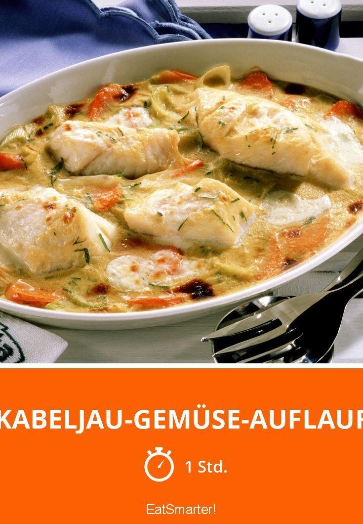 Kabeljau-Gemüse-Auflauf #fischrezepte