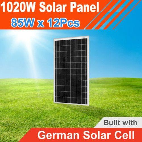 1020watt Solar Panel 1020w 1000w 1kw 12v Buy Online India Solar Panels Solar 12v Solar Panel