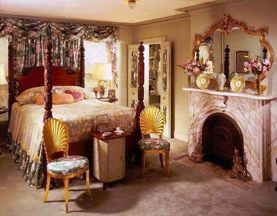 Glamours Fur Decor 1930s Hollywood Glamour Bedroom Decor Home