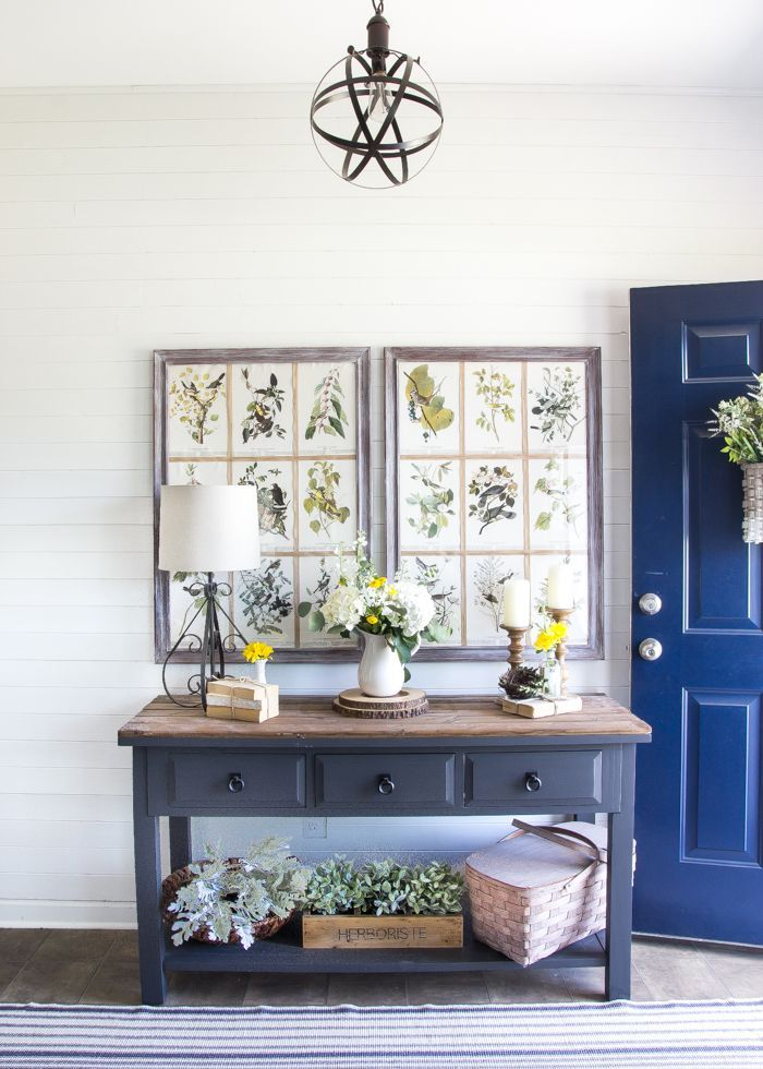 Decorating · summer home tour 2016 with country living magazine