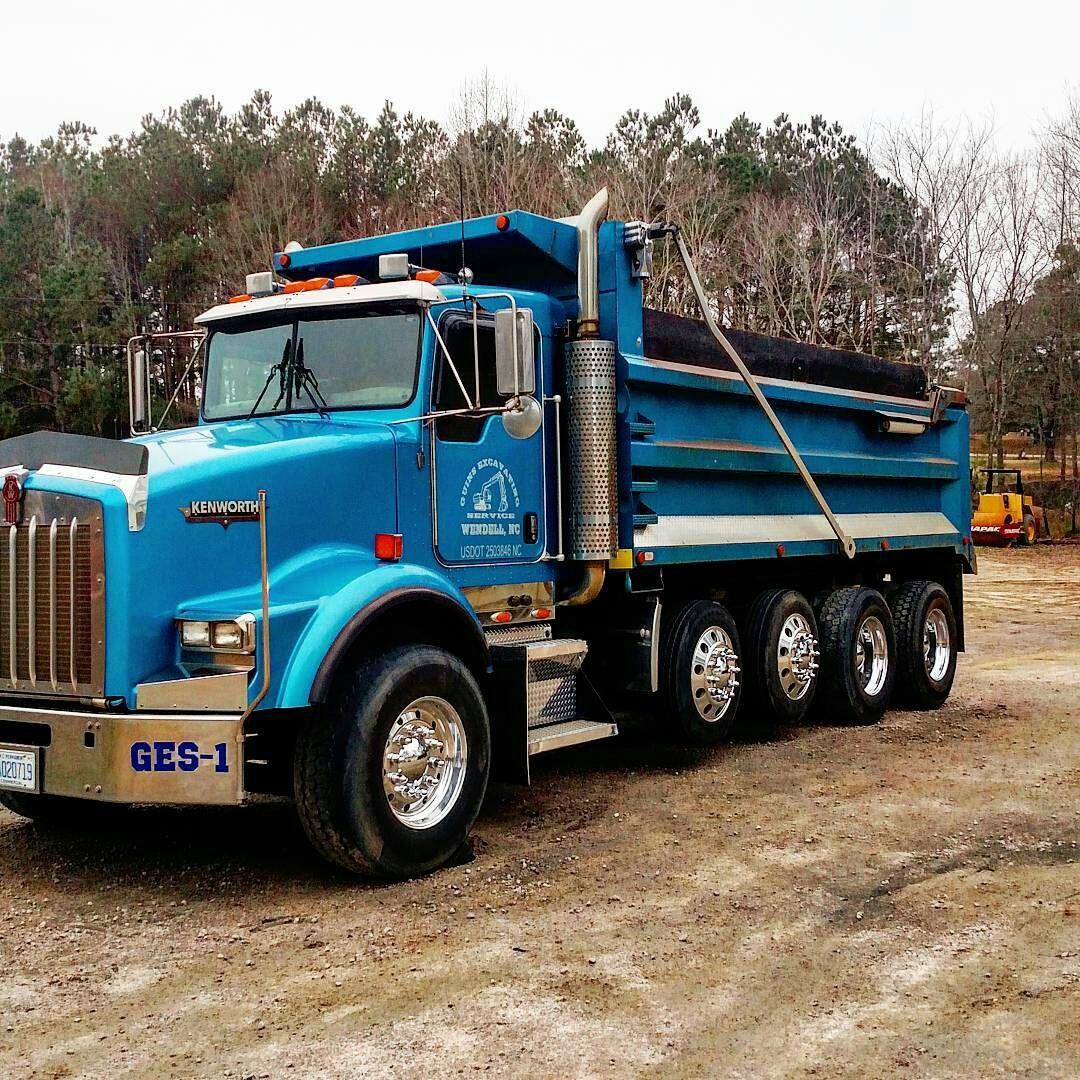 Kenworth custom T-800 quad axle dump | dump trucks stuff ... Kenworth Dump Trucks Pics