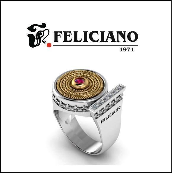 Hola feliciamig@s. ¿Qué os parece el nuevo anillo de la colección History que Feliciano joyeros os presenta? Como podéis apreciar la base es la misma en todos, solamente hay que cambiar la parte de arriba y conseguiréis 20 modelos diferentes. Además uno de estos modelos es el que Feliciano joyeros sorteará el próximo 22 de diciembre Para poder participar tienes que entrar en nuestra web www.felicianojoyeros.com y darte de alta en nuestro boletín.  Podéis entrar pulsando el botón comprar de