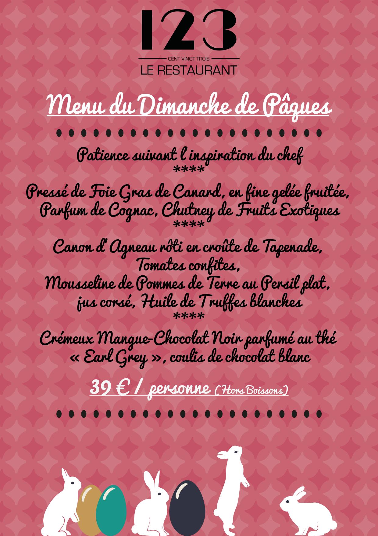 Sonnez les #cloches : #Pâques2015 se déroule aussi à L'Hôtel et Hôtel & Spa du Château**** - la Rochelle. Découvrez notre menu du 05 Avril. En famille ou en amis, ne ratez pas une occasion de vous évader. #larochelle #bonsplans #charentemaritme