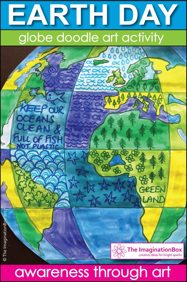 Earth Day Coloring Pages | Printable worksheets, Art activities and ...