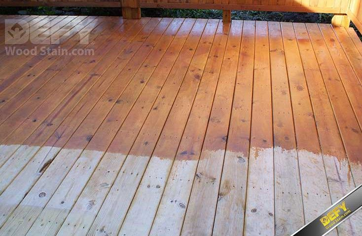 How To Apply Extreme Wood Stain Staining Deck Deck Stain Colors