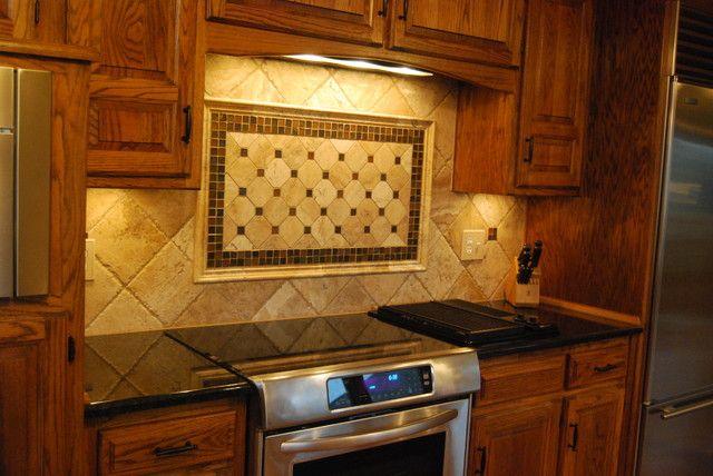 Black Granite Countertops With Tile Backsplash Backsplash Adorable Black Granite Countertops With Tile Backsplash