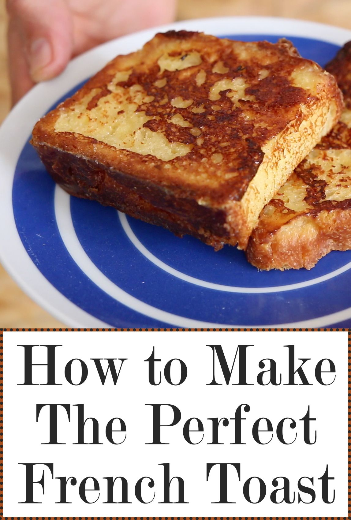 How to make perfect french toast big big traditional and easy french toast is a big big classic of french food but unlike many traditional recipes forumfinder Choice Image