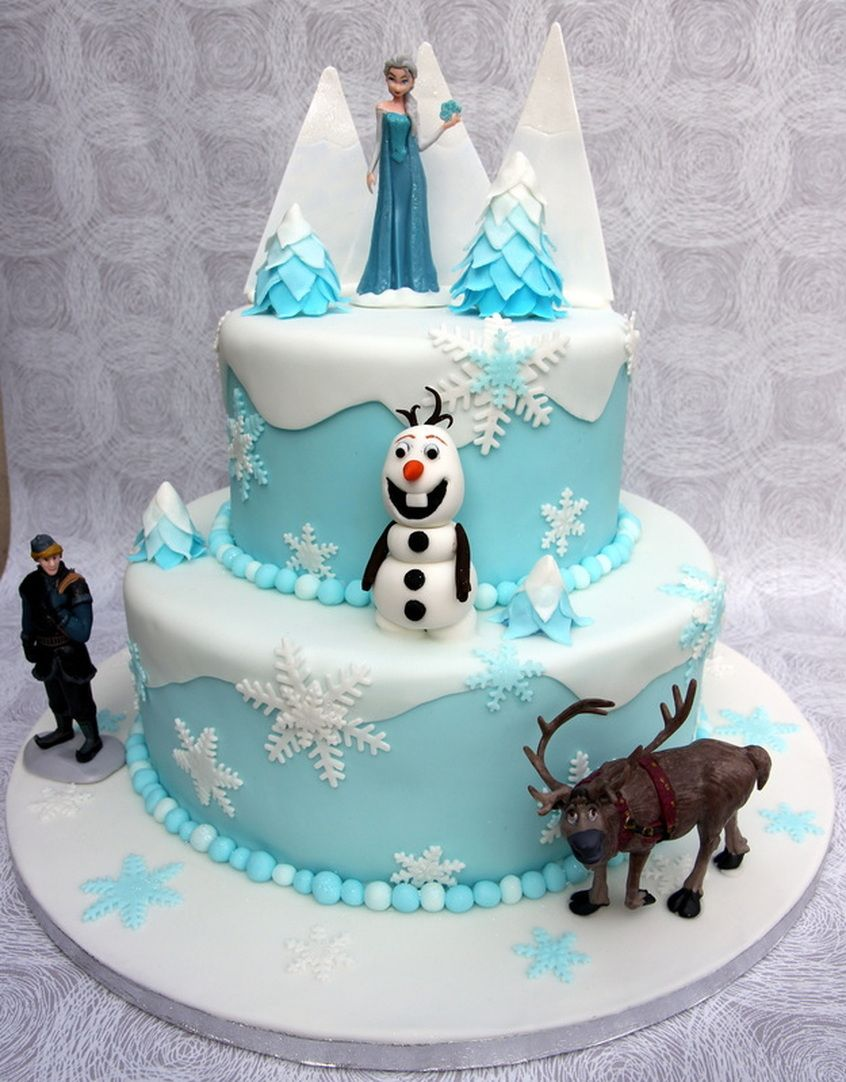 Frozen Cake Decorations Asda : Disney Frozen birthday cake Frozen Birthday Party ...