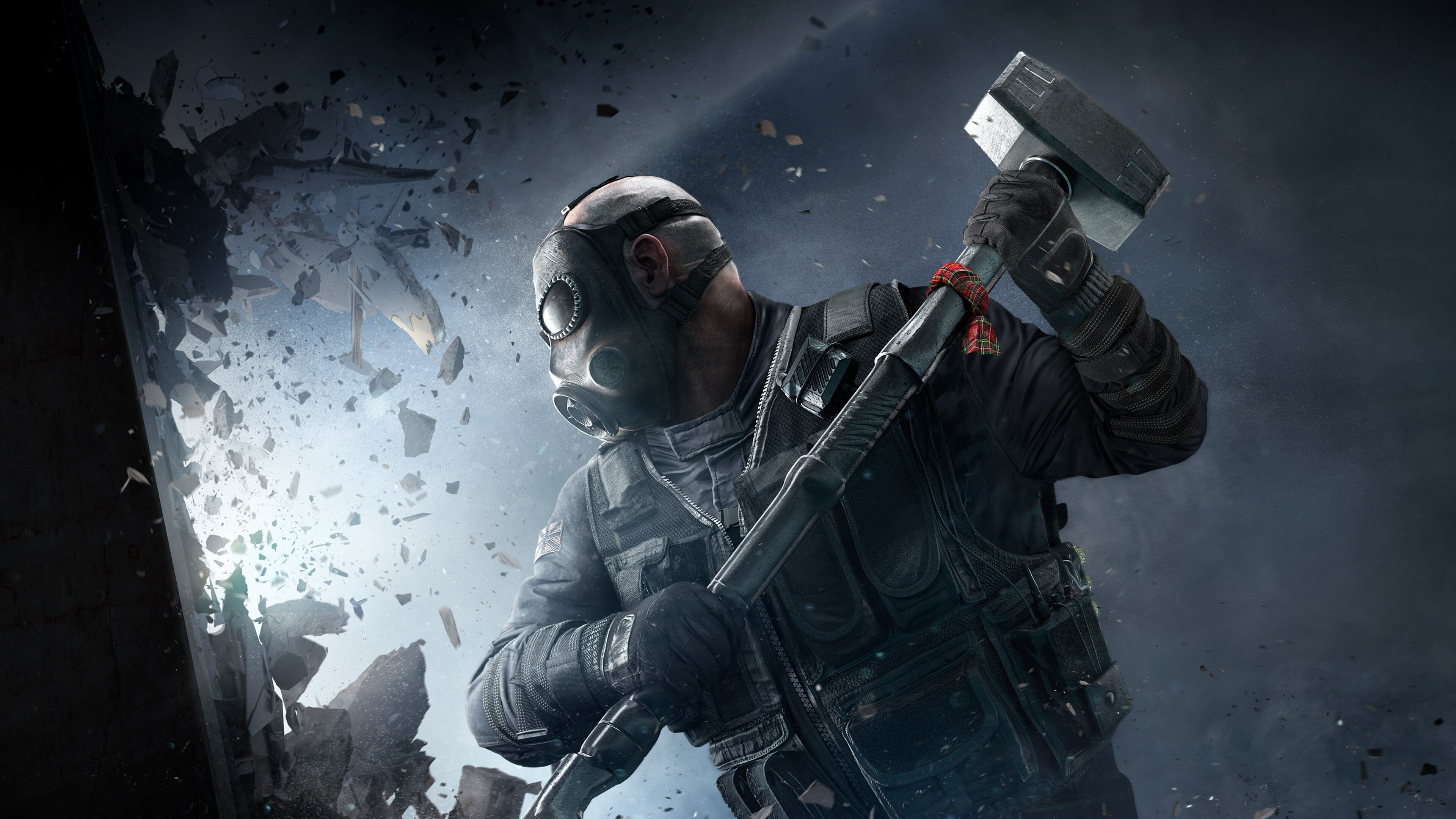 Video Game Tom Clancy S Rainbow Six Siege Hammer Sledge Tom Clancy S Rainbow Six Siege 4k Wallpaper Hdwallp In 2020 Tom Clancy S Rainbow Six Ubisoft Epic Games