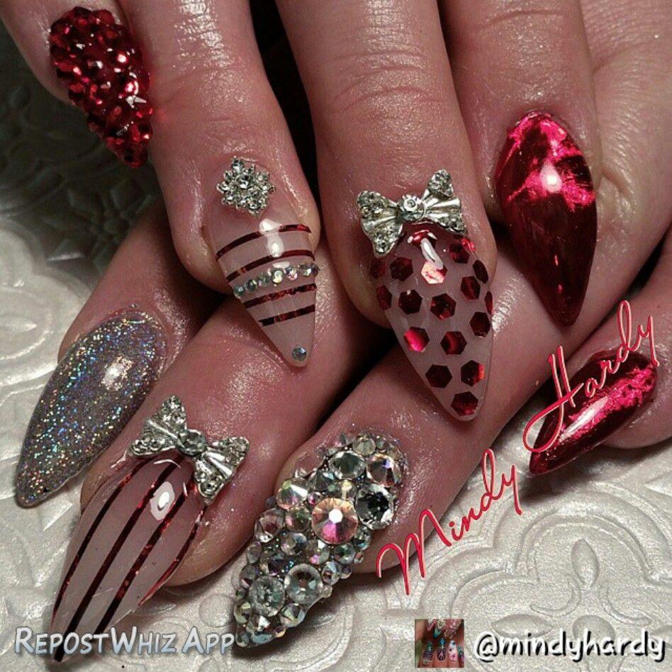 Nails, Nail Art, Xmas Nails