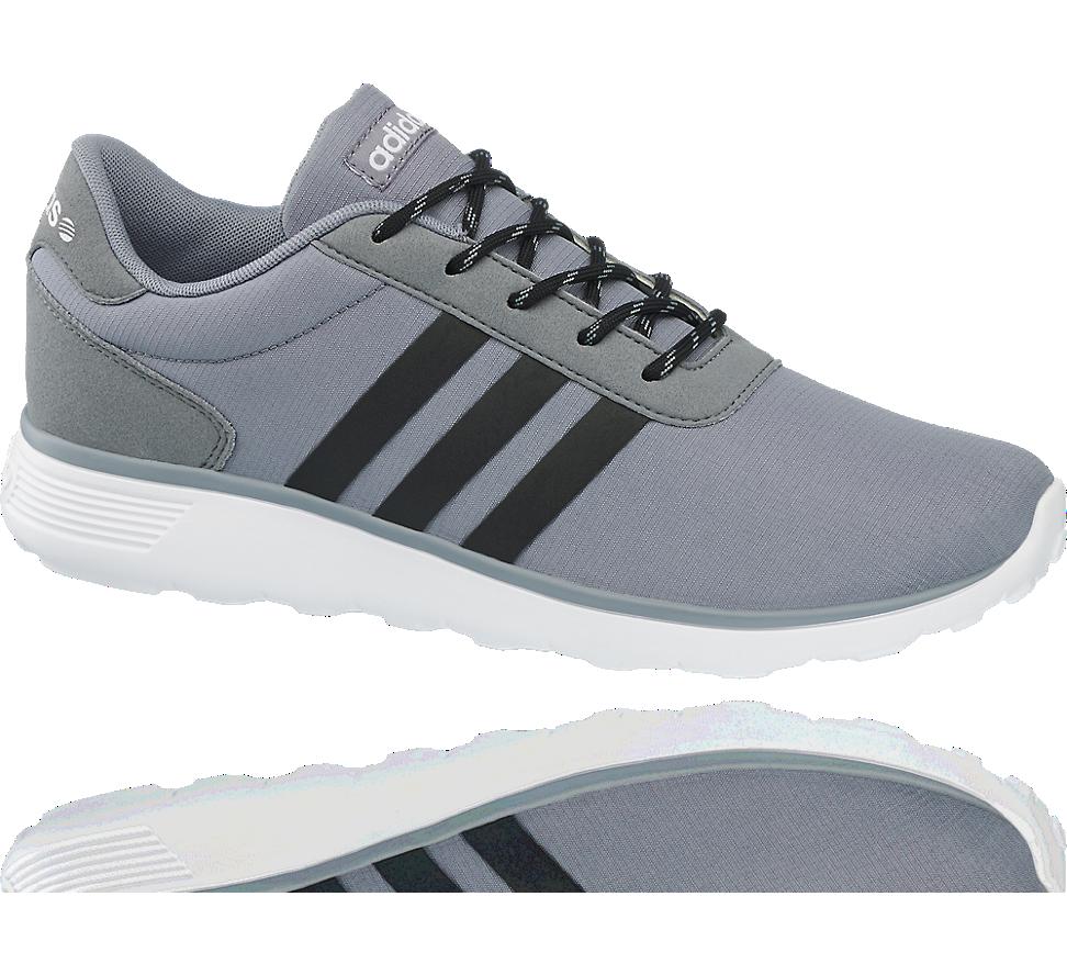 Adidas lightweight grey trainers