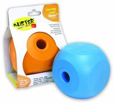 Our Pet S Buster Mini Food Cube Interactive Pet Dog Toy Safe And