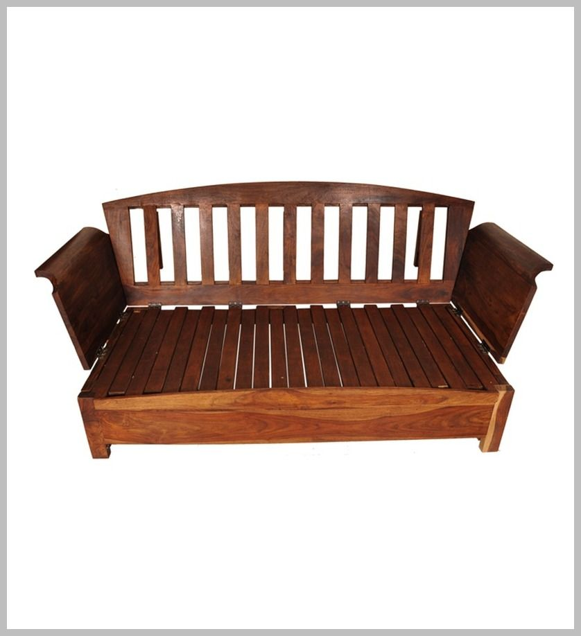 67 Reference Of Wood Sofa Bed Couch In 2020 Small Wooden Sofa Wood Sofa Sofa Bed Wooden