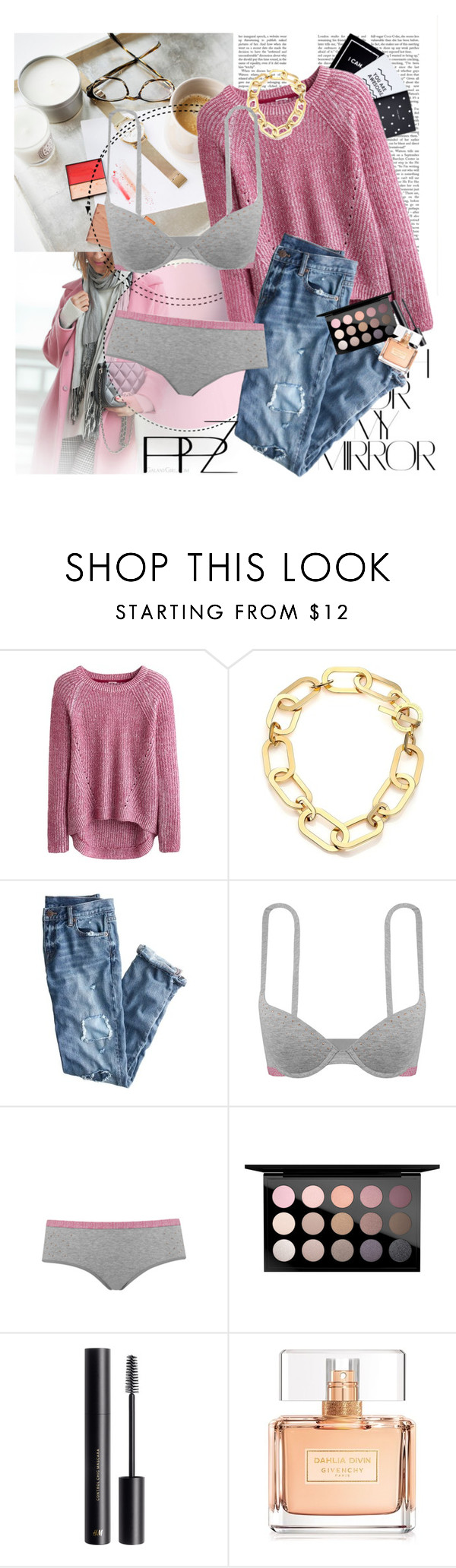 """PPZ Lingerie 10."" by nensy ❤ liked on Polyvore featuring Rika, Michael Kors, J.Crew, MAC Cosmetics, H&M, Givenchy, lingerie and PPZ"