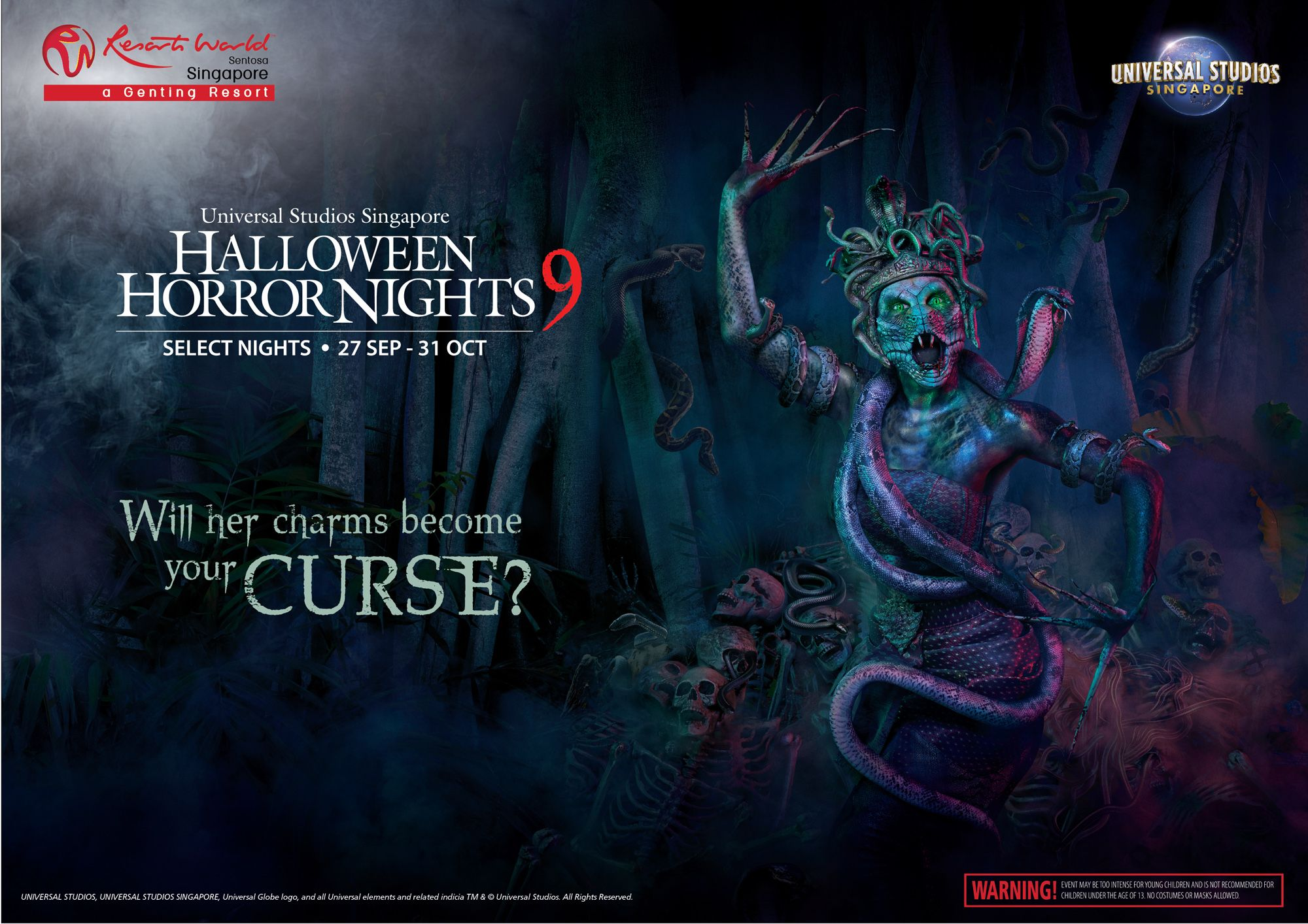 Universal Studios Singapore's Halloween Horror Nights 2019