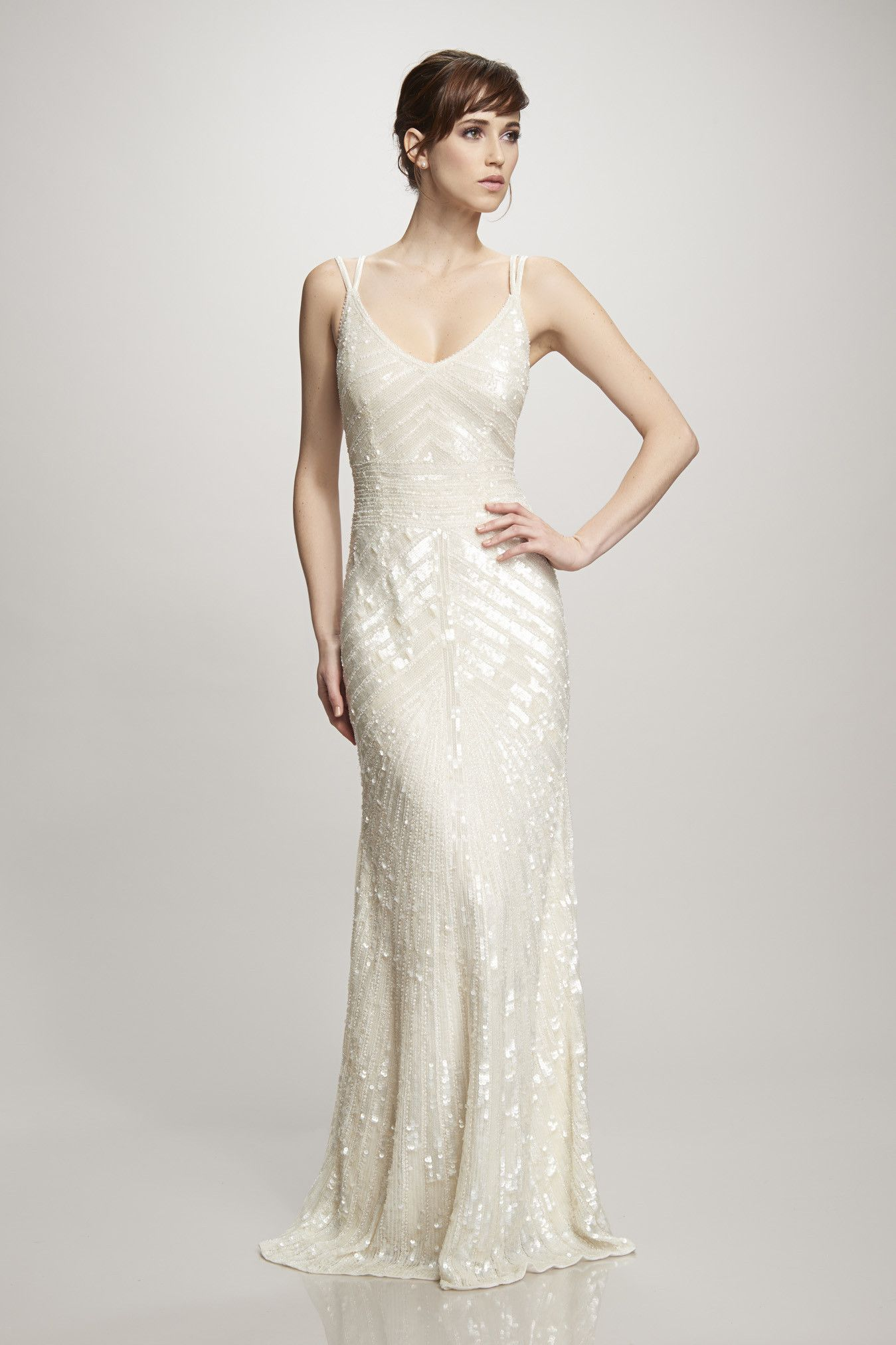 Miltered sequin gown   gowns   Pinterest