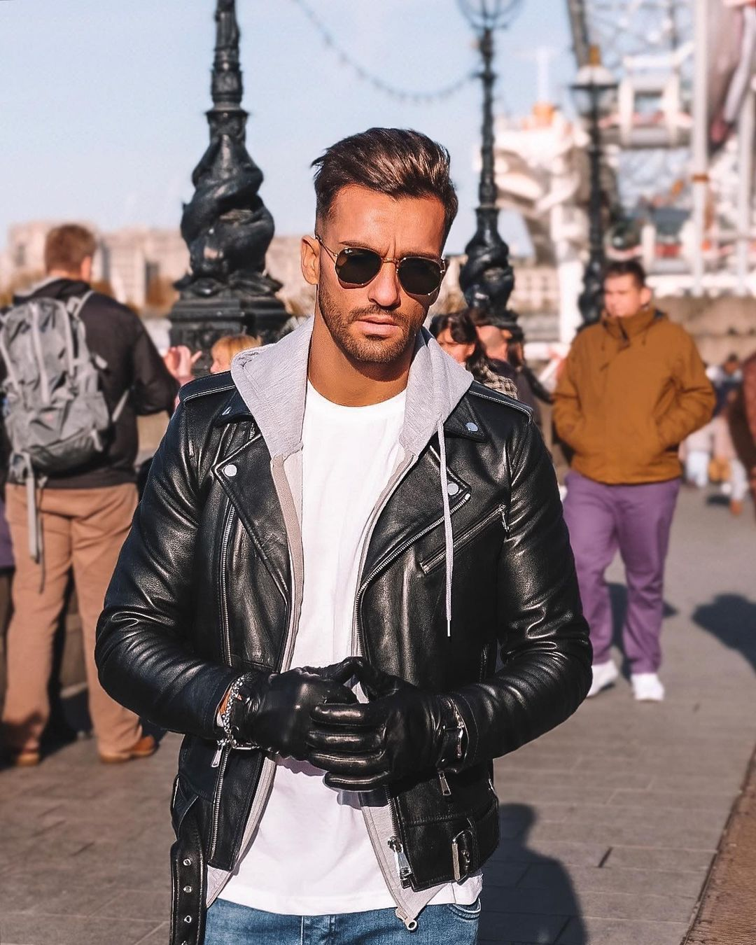 Pin By Dave On Leather Jeans Men In 2021 Leather Jacket Men Mens Outfits Leather Jacket