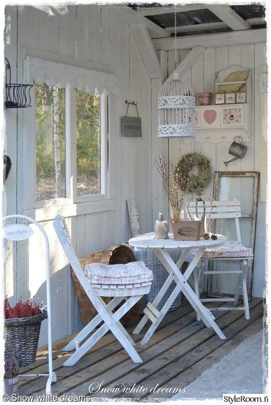 puu,pöytä,tuolit,romanttinen,terassi