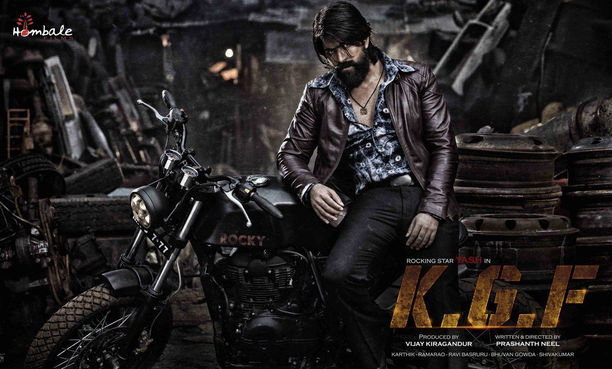 Kgf First Look Poster Celebrity Photos Pinterest Movies