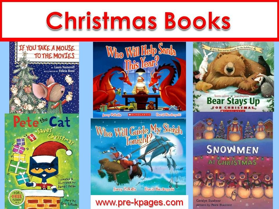 Christmas Literacy Christmas Theme For Preschool Christmas Books