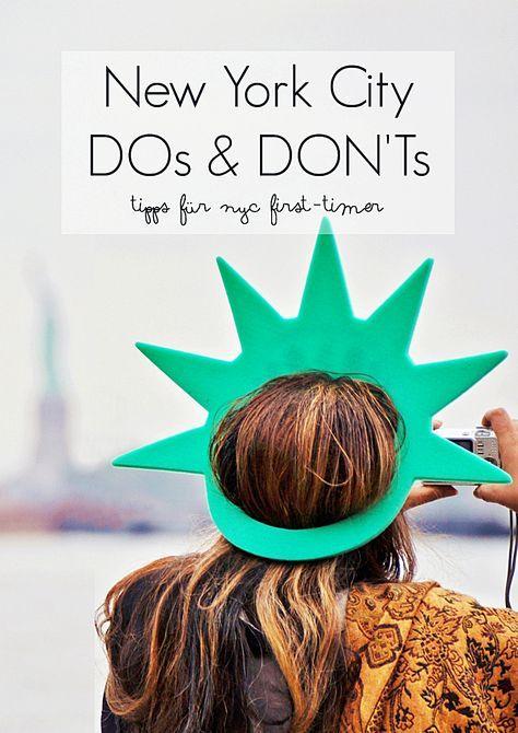 New York DOs & DON'Ts – NYC City Trip Tipps für First-Timer