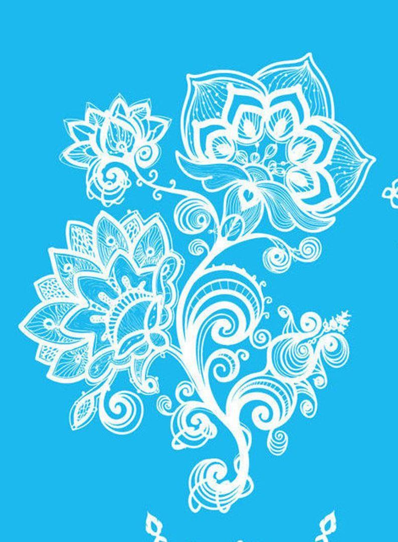 White henna Tattoo flower tattoo Flash tats floral Jewelry temporary mandala tattoo wedding tattoo indian body jewelry wedding gift for her